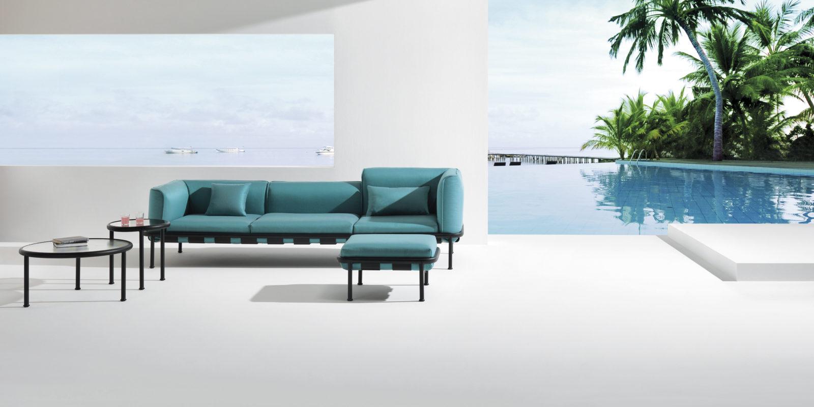 mobilier jardin emu amazing chaises directeur snooze blanc casse tissu glace emu jardinchic. Black Bedroom Furniture Sets. Home Design Ideas