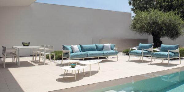 Salon de jardin design BUXUS Design Bordeaux Arcachon Cap Ferret Terramare EMU