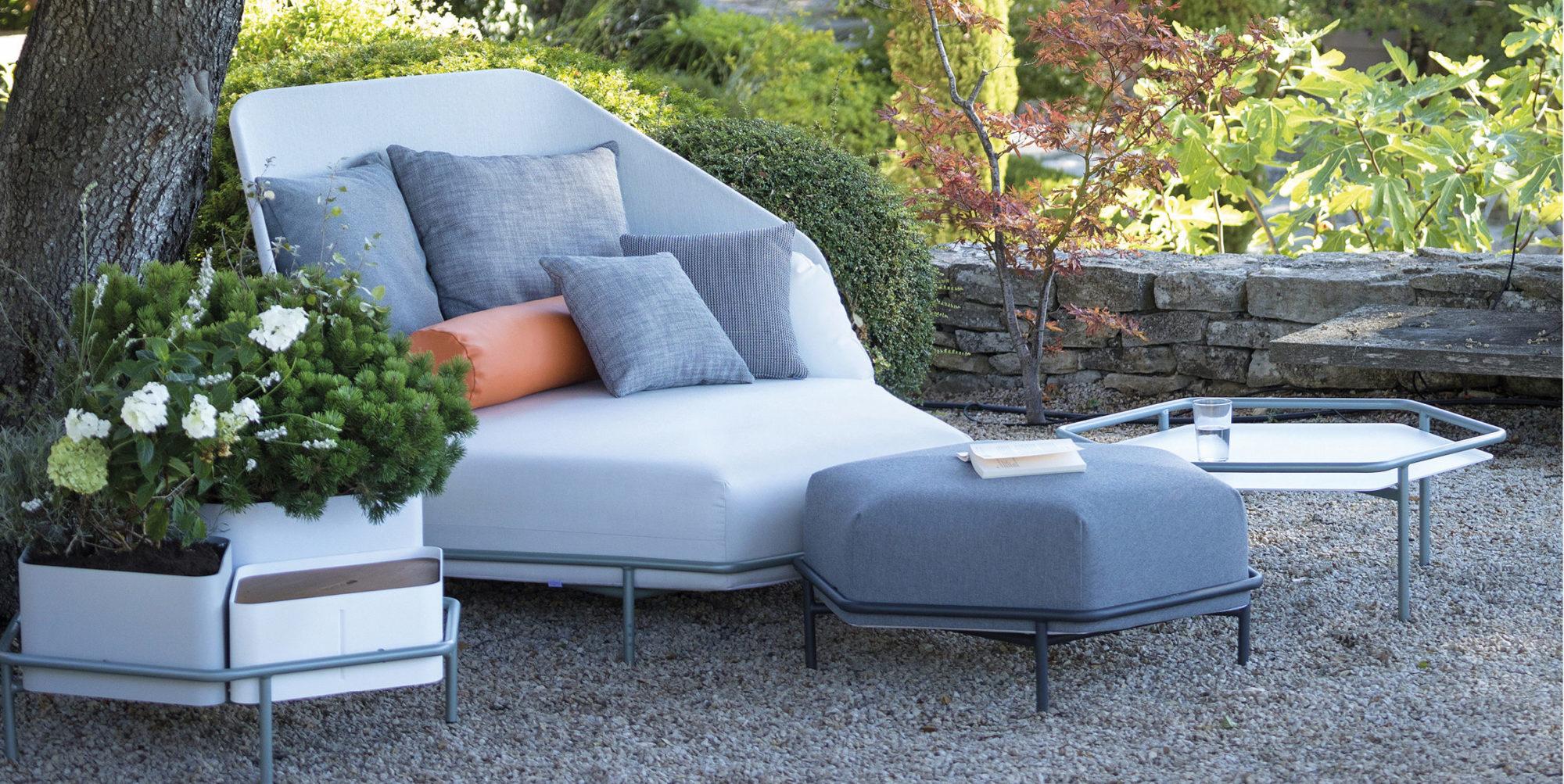 Canapé HIVE - EGO PARIS salon de jardin design haut de gamme bordeaux arcachon cap ferret buxus