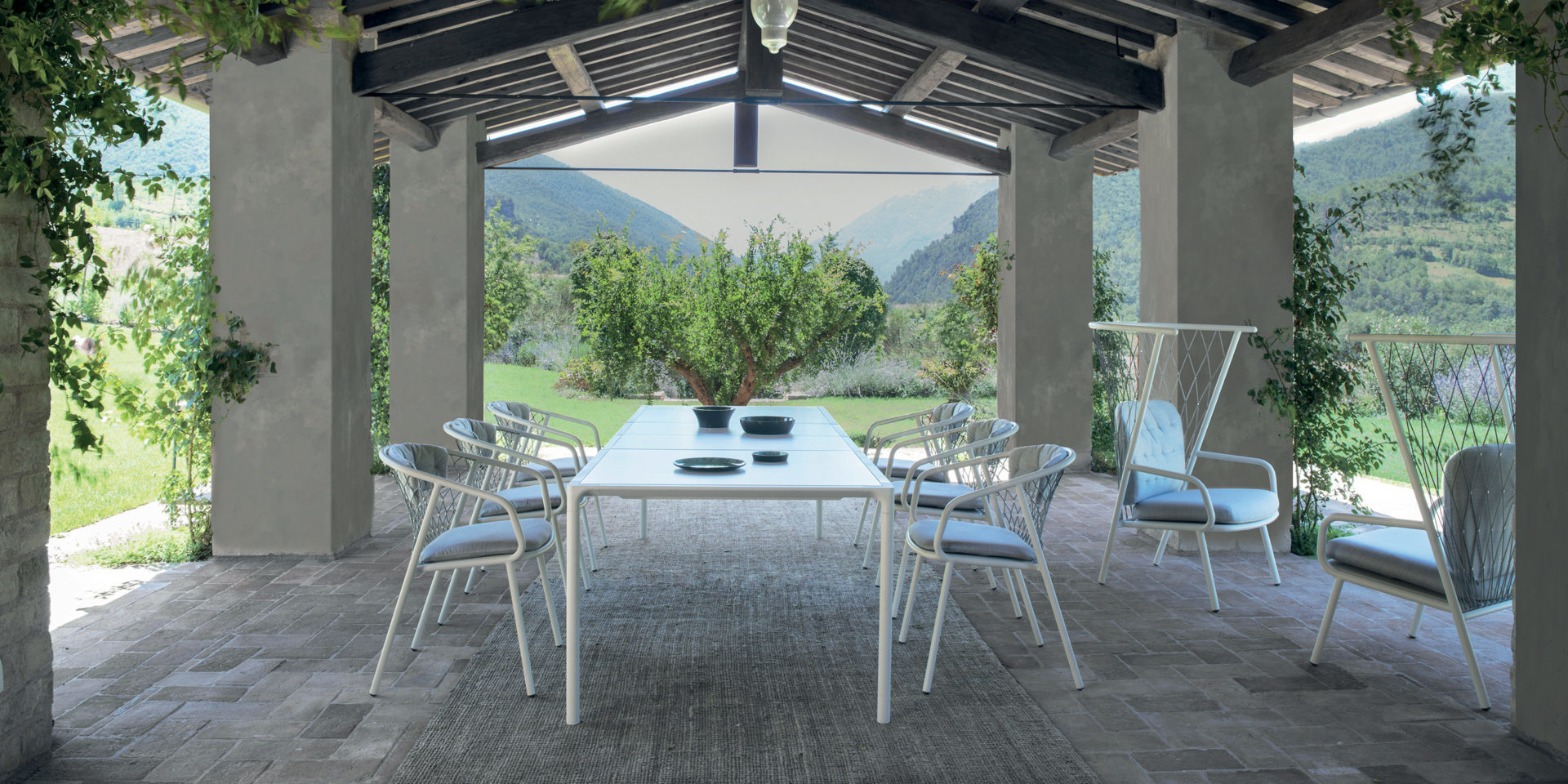 02_Nef_Terramare_EMU table jardin bordeaux arcachon cap ferret buxus