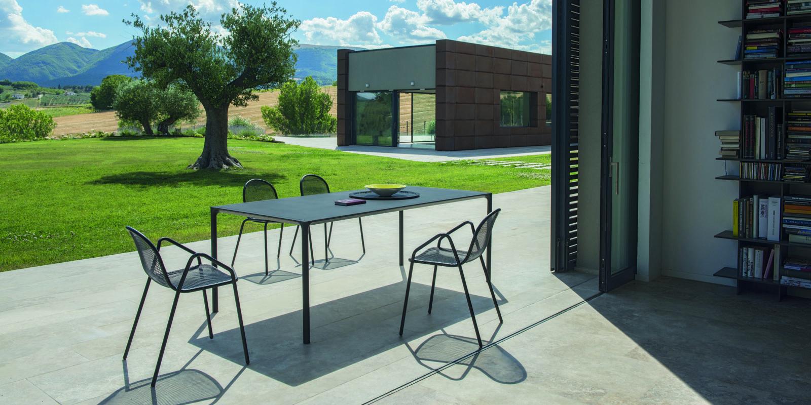 chaise de jardin nova buxus mobilier outdoor bordeaux. Black Bedroom Furniture Sets. Home Design Ideas