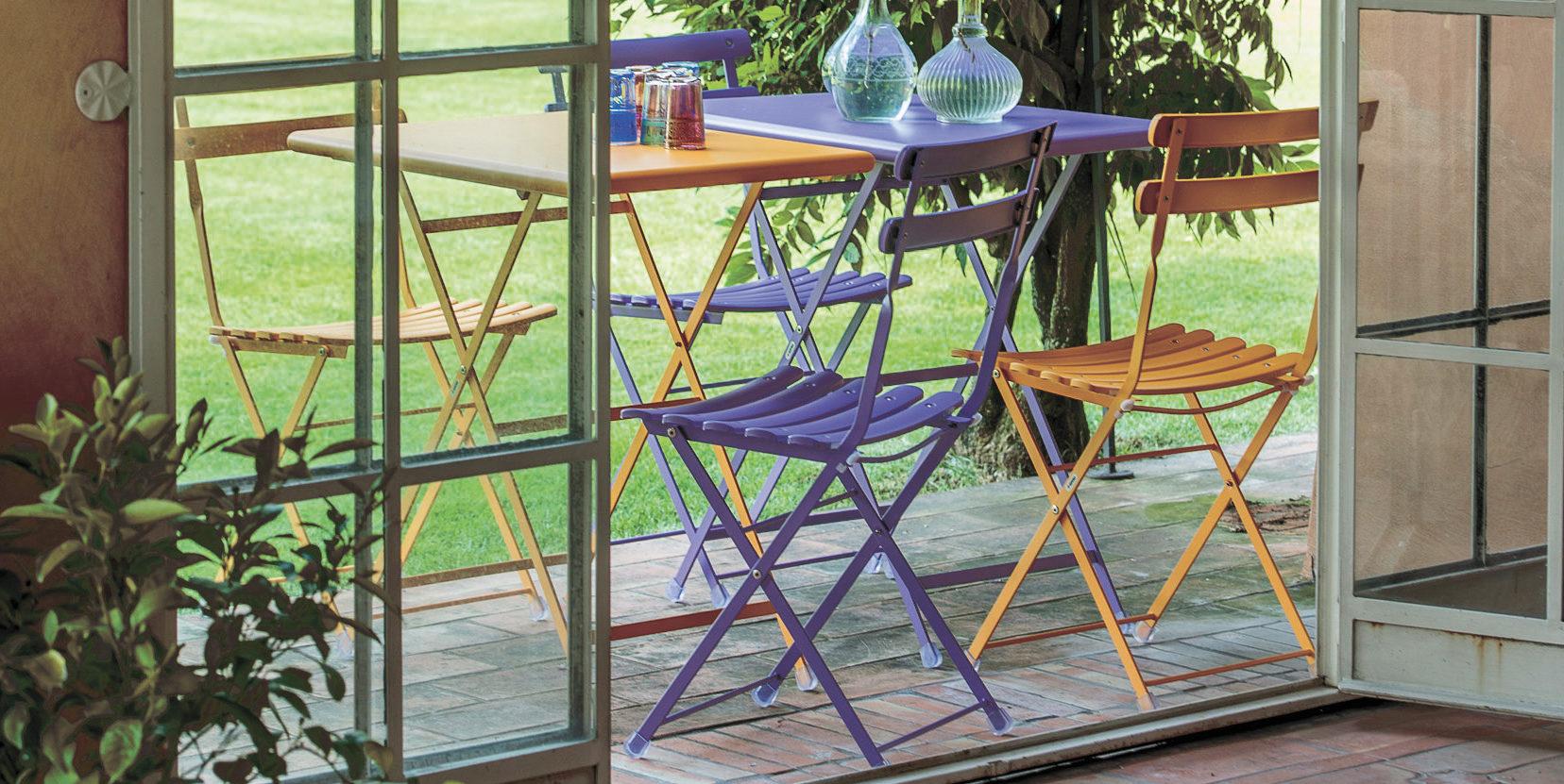 chaise de jardin arc en ciel BUXUS DESIGN