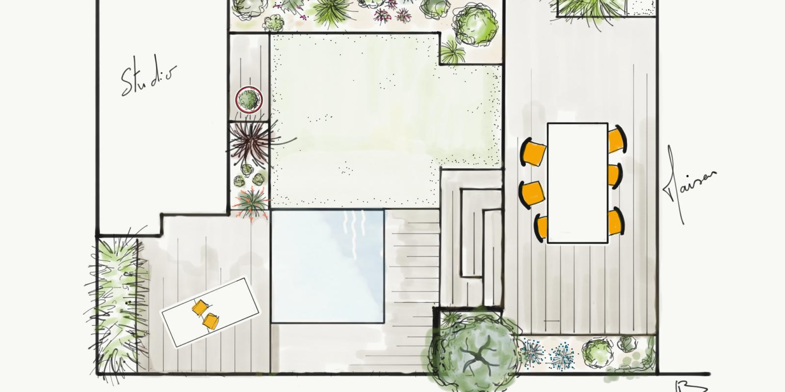 Am nagement de jardin bordeaux paysagiste buxus design for Amenagement jardin bordeaux