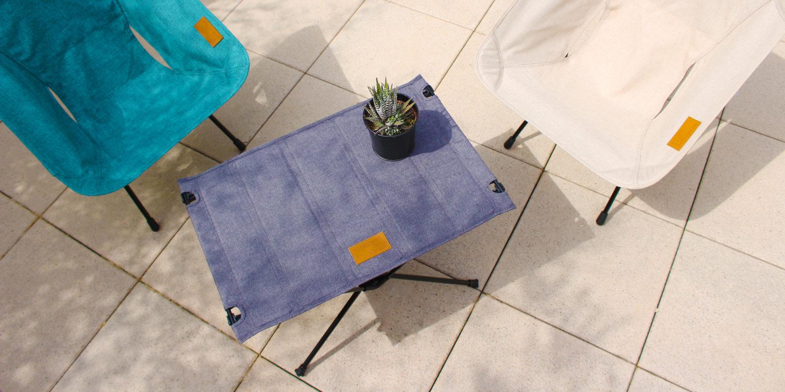 table basse pliante Helinox