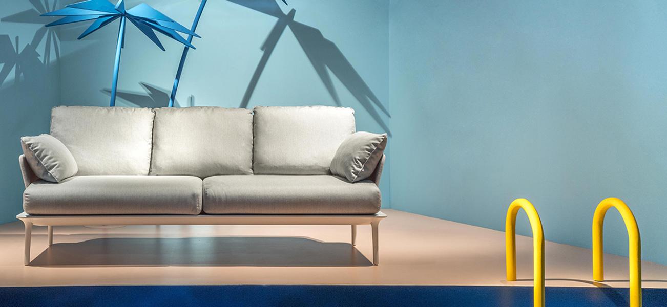 Sofa d'extérieur haut de gamme