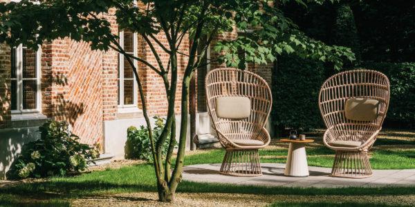 KETTAL Cala Fauteuil de jardin BUXUS Design Bordeaux