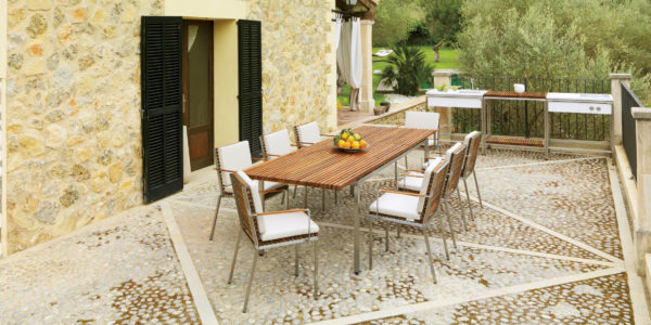 Table de jardin VITEO HOME