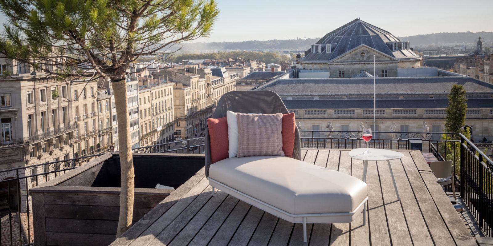 buxus grand hôtel de Bordeaux