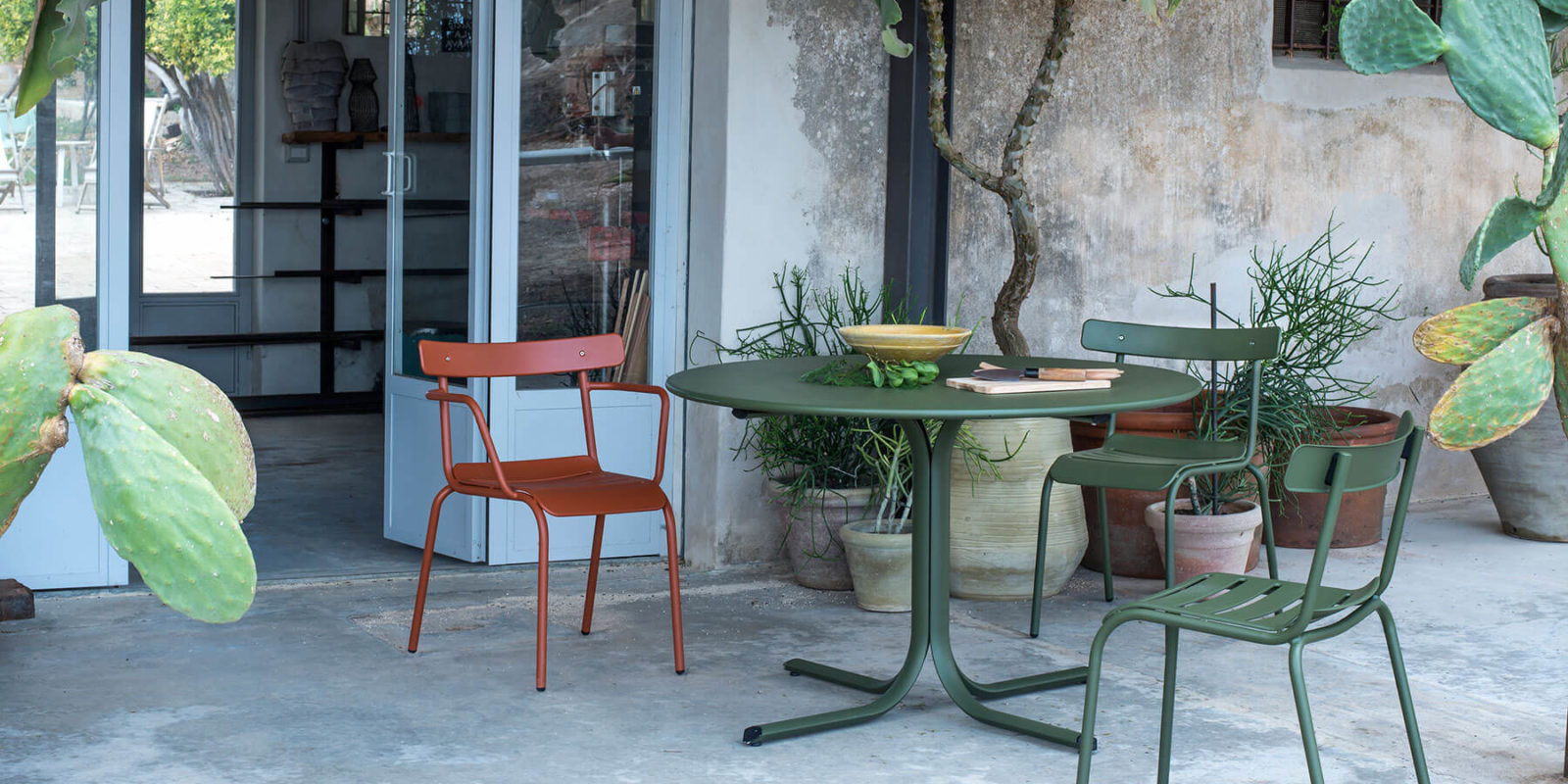 table repas system emu BUXUS DESIGN