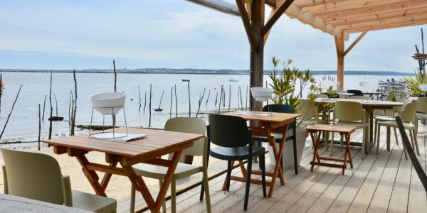 BUXUS cap Ferret terrasse restaurant