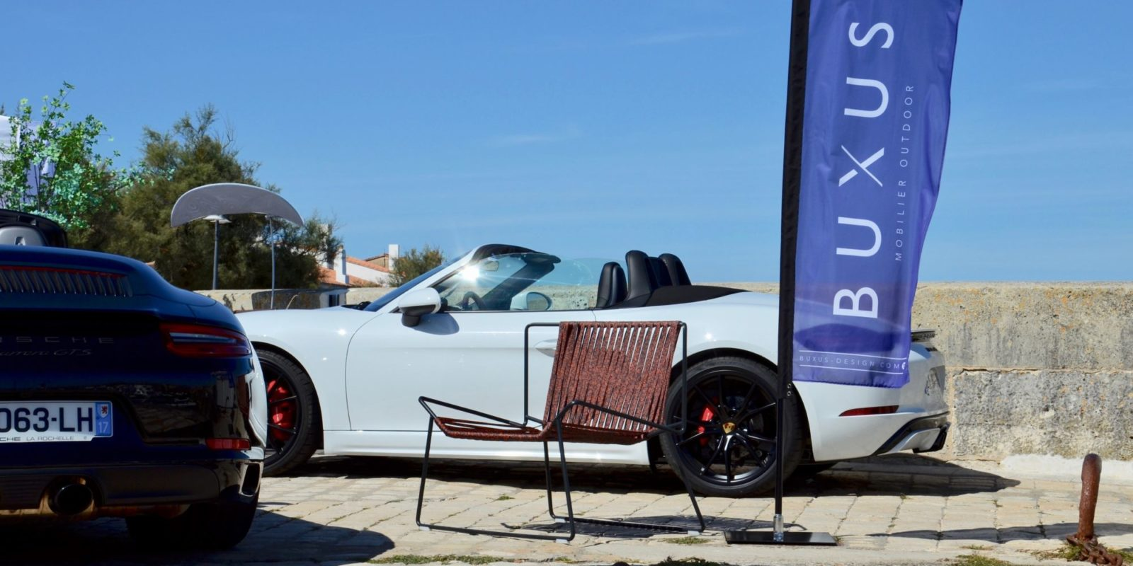 Porsche / Ile de ré / BUXUS