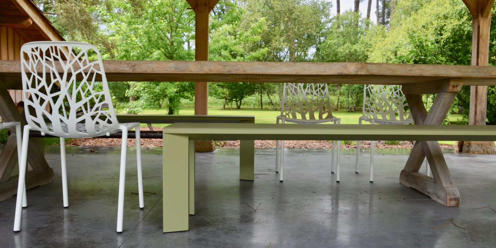Mobilier de jardin BUXUS