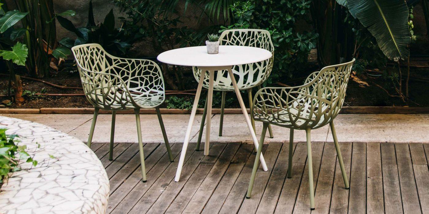 Table de jardin ZEBRA - FAST - BUXUS DESIGN
