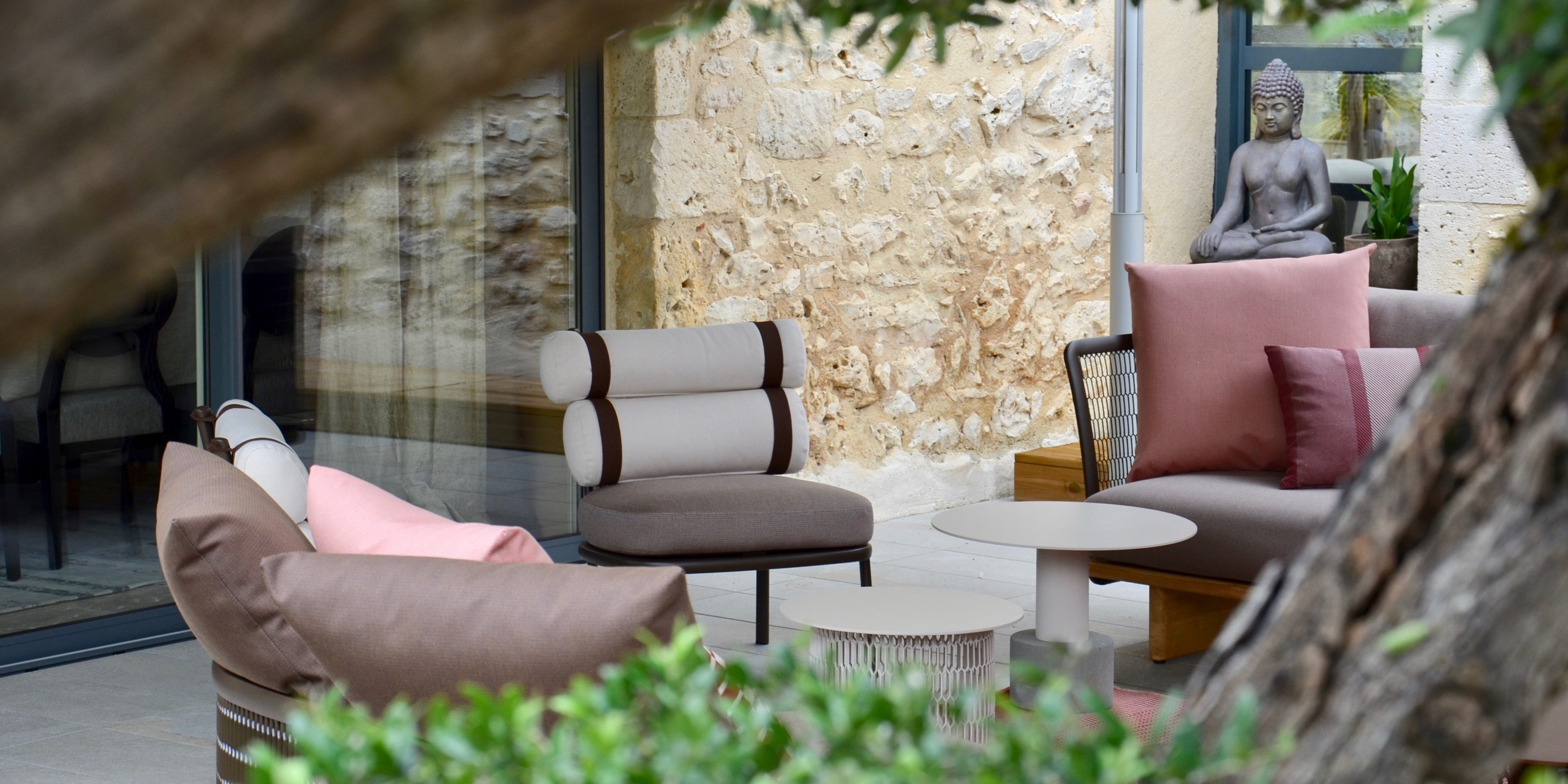 BUXUS Salon de jardin haut de gamme - Buxus / Mobilier outdoor