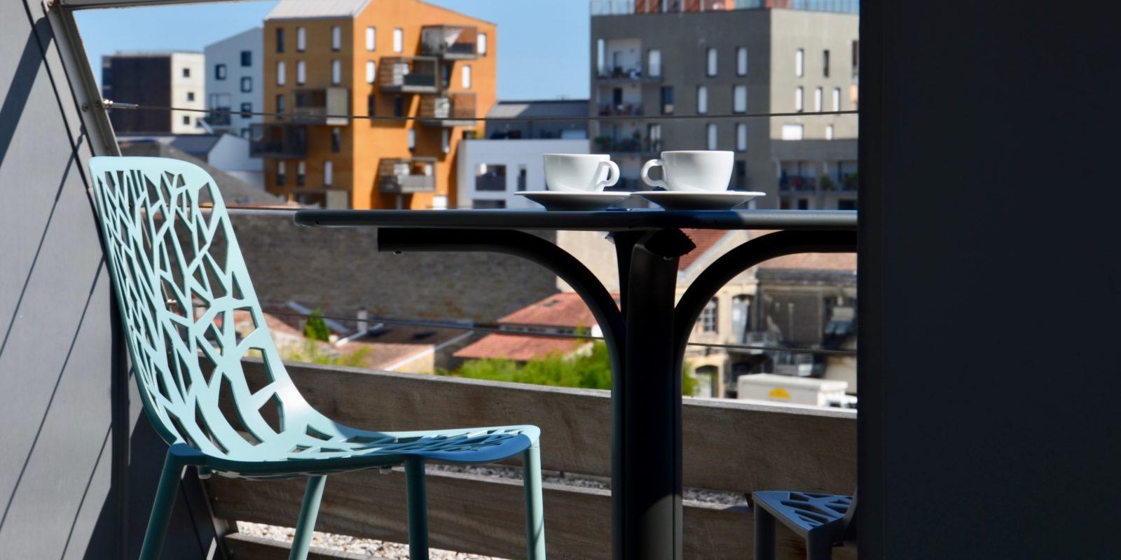 BUXUS terrasse hôtel Bordeaux Seeko'o