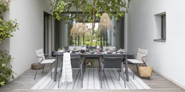 Fauteuil repas - Table de jardin ANCONE / Lafuma / BUXUS