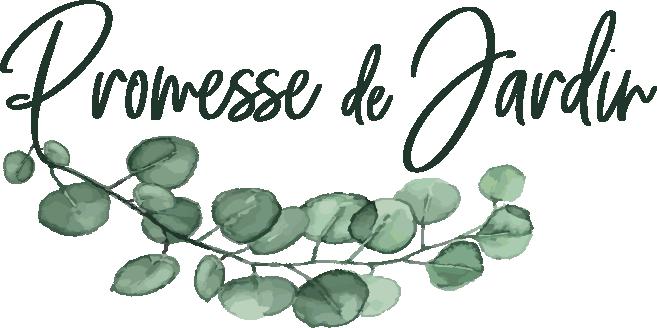 LOGO Promesse de jardin / BUXUS