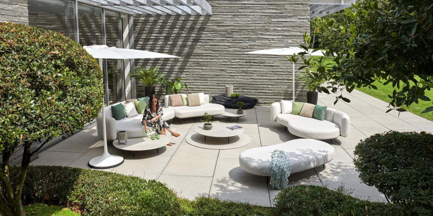 Salon de jardin haut de gamme Royal Botania Organix BUXUS