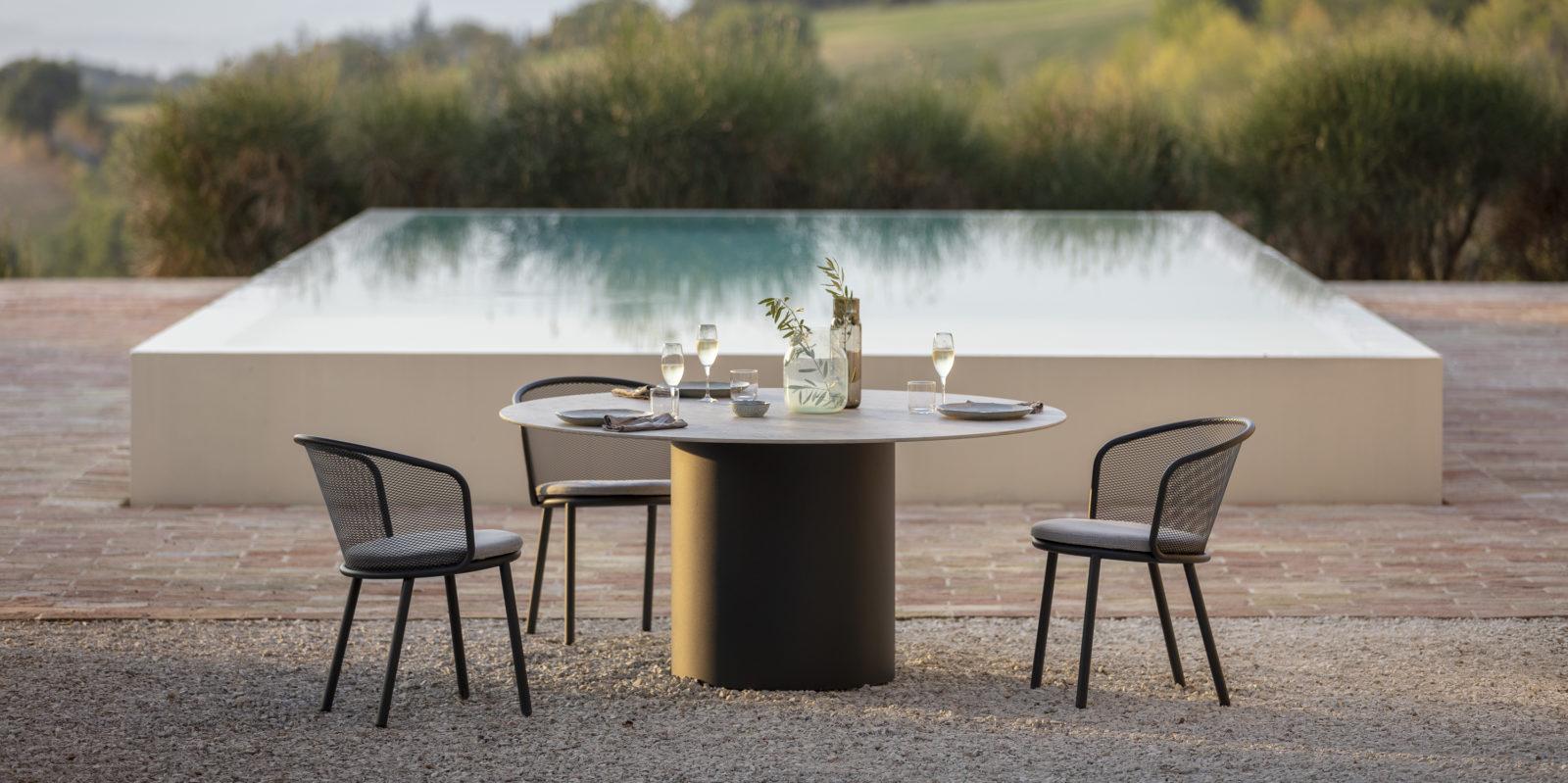 Table de jardin brenta Todus BUXUS